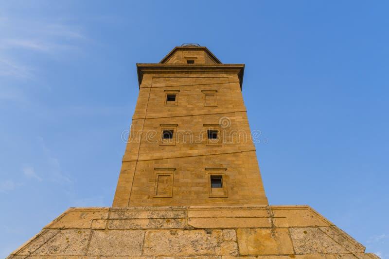 Hercules Tower royalty-vrije stock foto