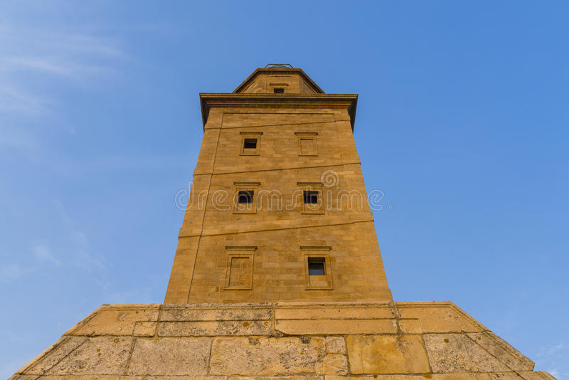 Hercules Tower foto de stock royalty free