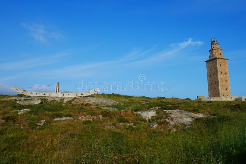 Hercules Tower stock fotografie