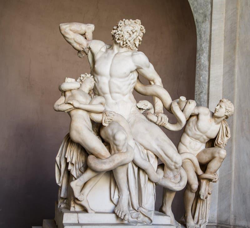 Hercules in Vatikaan royalty-vrije stock afbeelding