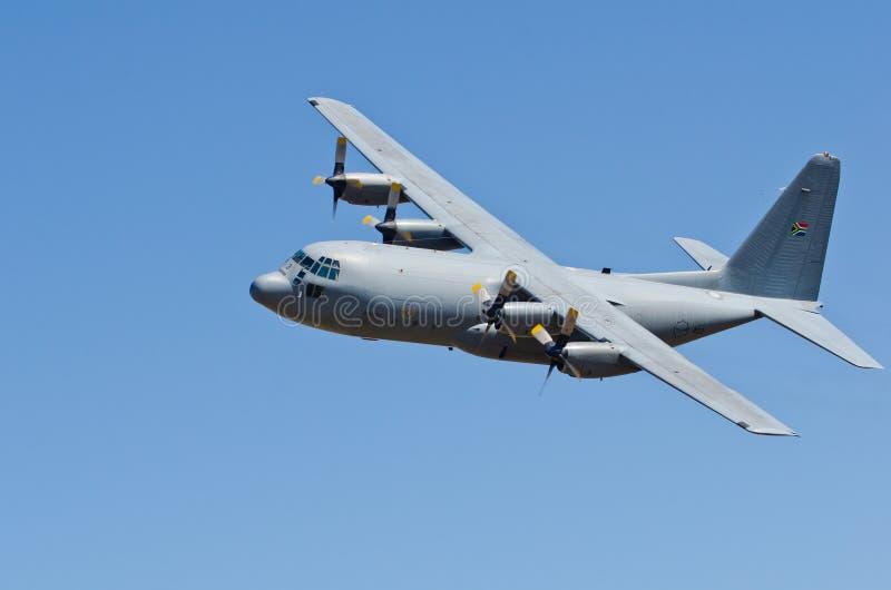 Hercules-vlieg voorbij royalty-vrije stock afbeelding
