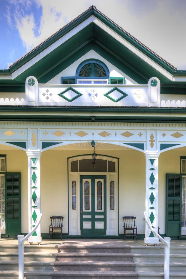 Herdade de Bell, casa de Alexander Graham Bell em Brantford, Cana imagens de stock royalty free