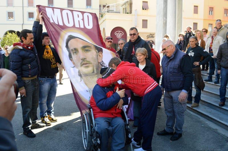 Herdenking van de dood Morosini royalty-vrije stock fotografie