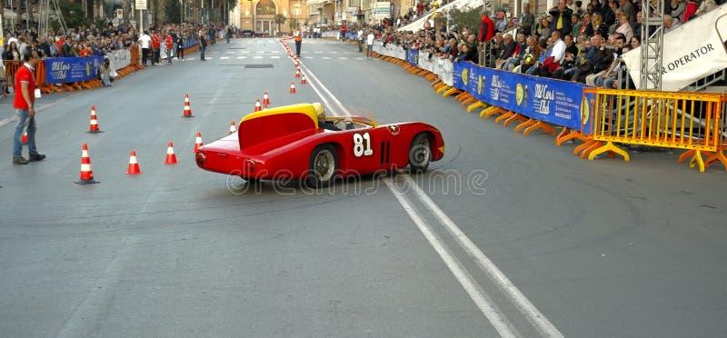Herdenking van de Grand Prixstad van Bari stock afbeelding