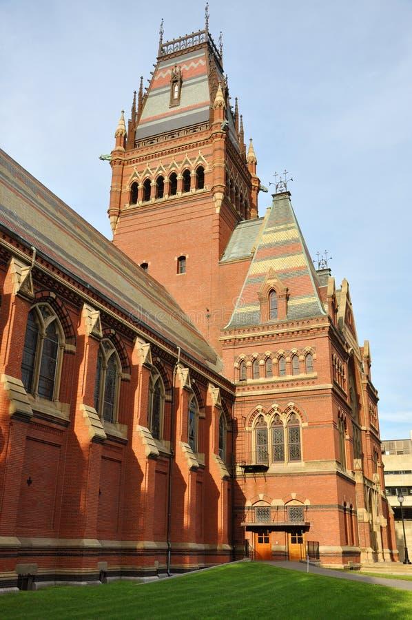 Herdenkings Zaal, de Universiteit van Harvard, Cambridge, doctorandus in de letteren stock afbeeldingen