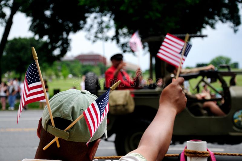 Herdenkingsdag in Washington DC royalty-vrije stock foto