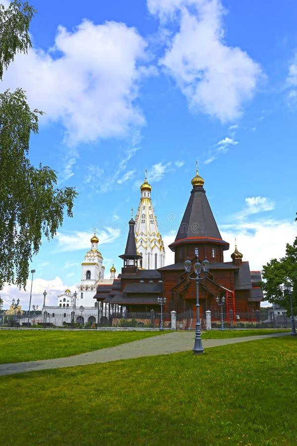 Herdenkingskerk van Alle Heiligen in Minsk royalty-vrije stock fotografie
