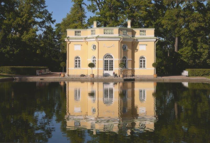 Herdenkingslandgoed Tsarskoe Selo stock afbeelding