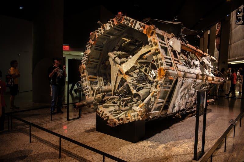 9 11 Herdenkingsmuseum New York royalty-vrije stock afbeeldingen