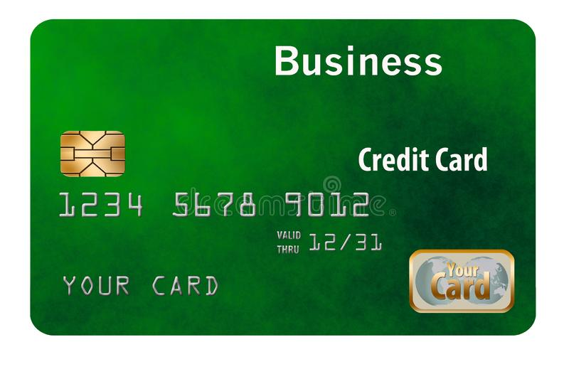 Here is a business credit card. It is generic and isolated on background stock photos