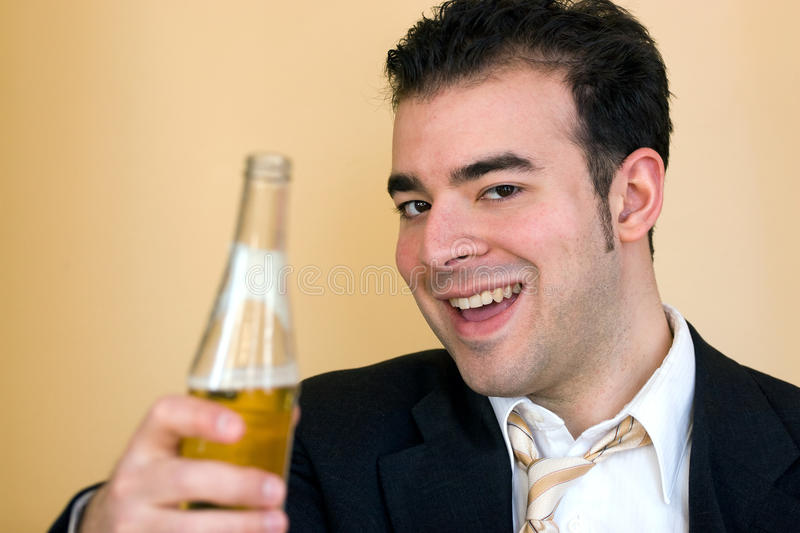 Download Here Have a Cold Beer stock image. Image of friend, adult - 27391213