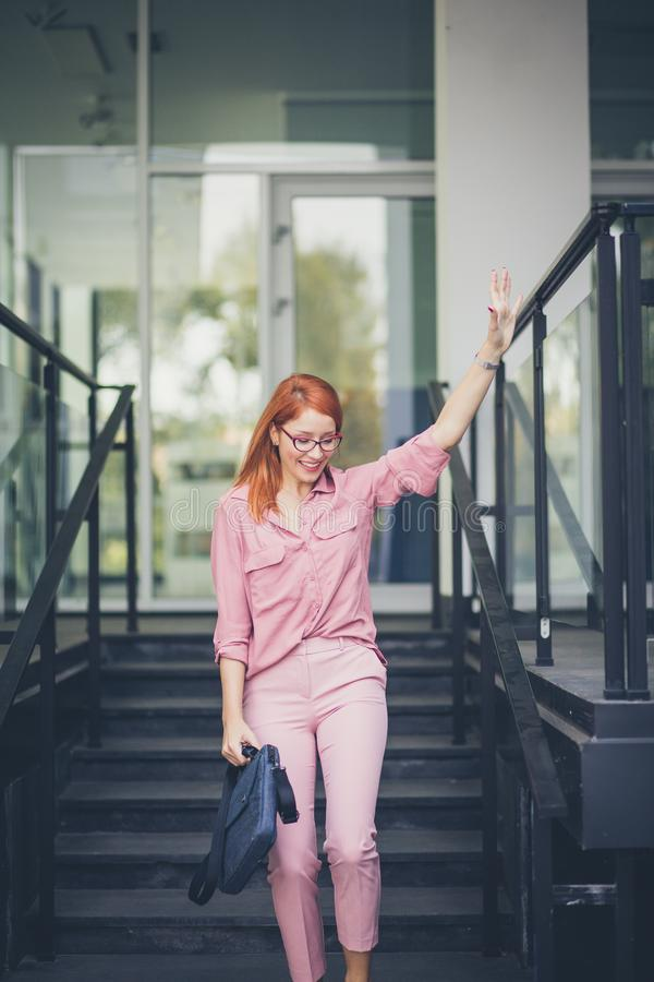 Here I am coming to you. royalty free stock image