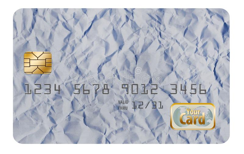 Here is an original background design, originally designed as a credit card background. Add your own information. Template for generic credit card stock photography