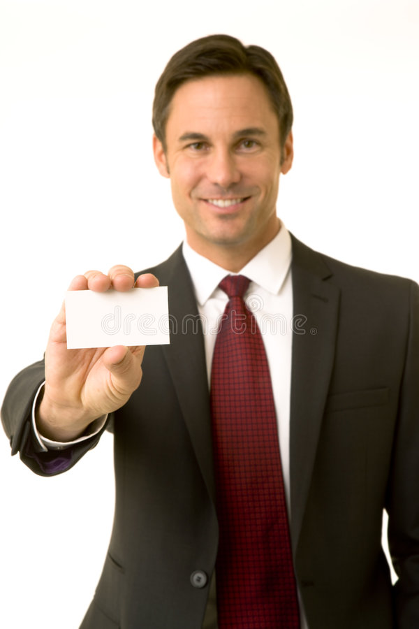 Here's my card royalty free stock photos
