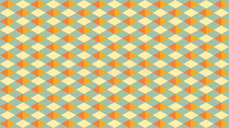 Beautiful and Classy Vector Geometric Pattern Background royalty free stock photography