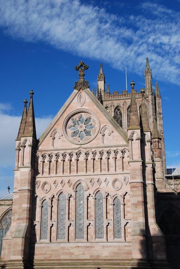 hereford собора стоковое изображение rf