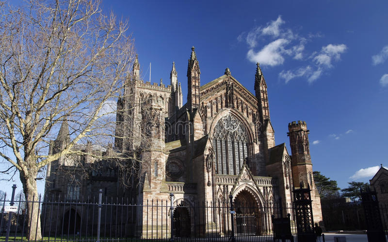 Hereford Cathedral Royalty Free Stock Photos