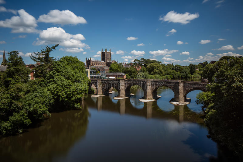 Download Hereford Cathedral stock image. Image of city, christianity - 94641975