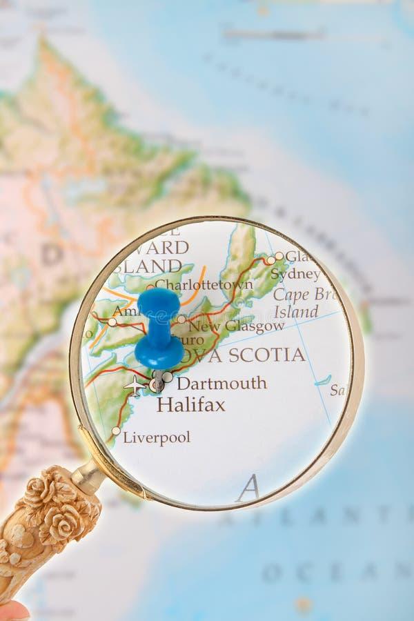 Herein auf Halifax Nova Scotia, Kanada schauen lizenzfreies stockfoto