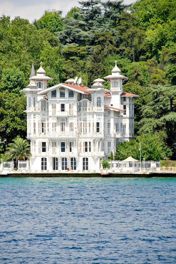 Herenhuis - Bosporus royalty-vrije stock foto's