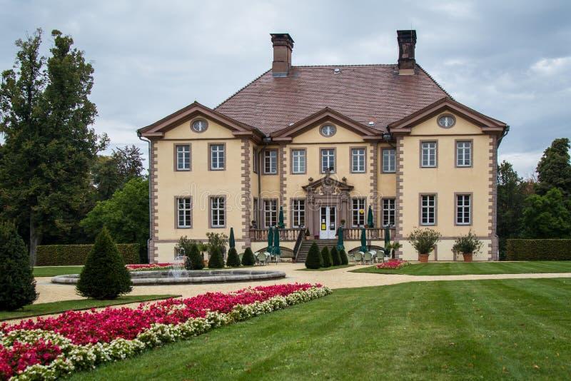 Herenhuis in Duitsland royalty-vrije stock afbeelding