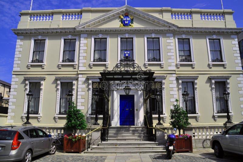 Herenhuishuis Dublin royalty-vrije stock afbeelding