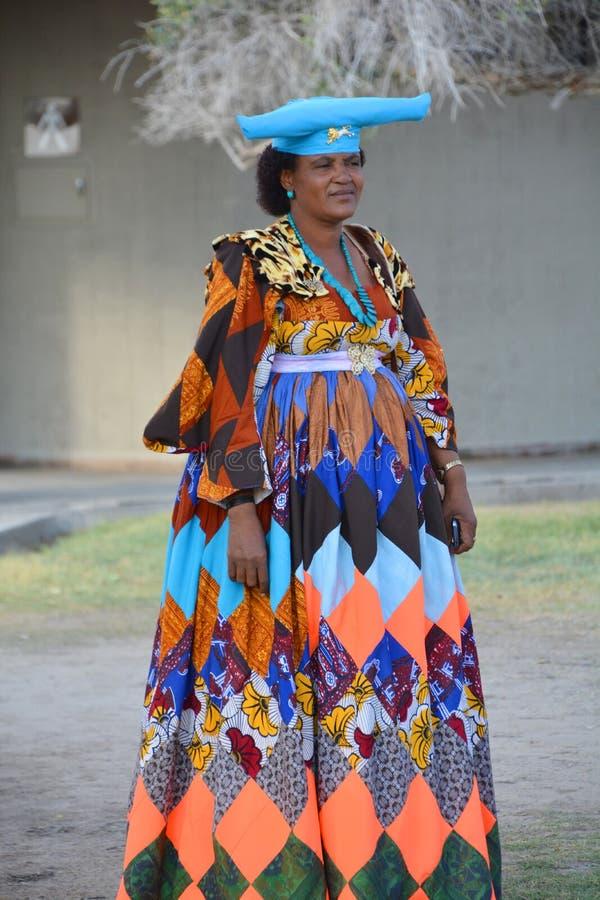 Herero-Frau stockfotos