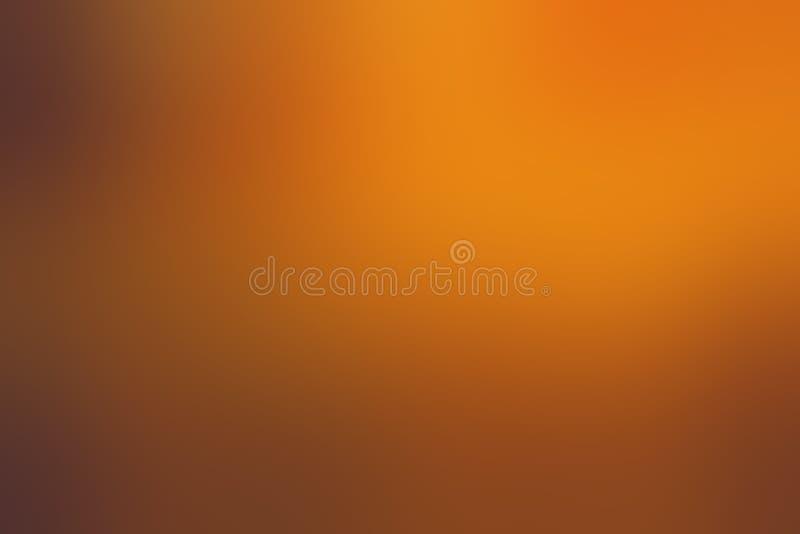 Herfst Gentle Orange Blur Background vector illustratie