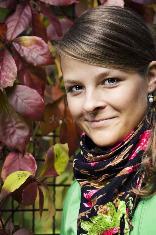 Herfst Portret royalty-vrije stock foto