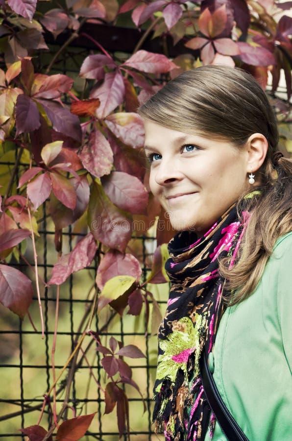 Herfst Portret stock foto's