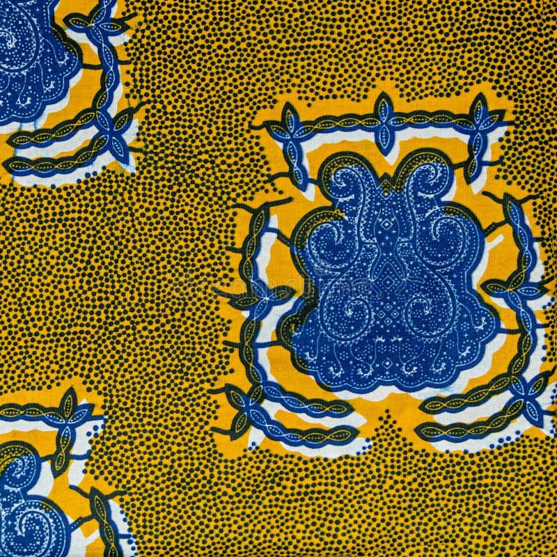 Hergestelltes afrikanisches Gewebe (Baumwolle) lizenzfreie stockfotos