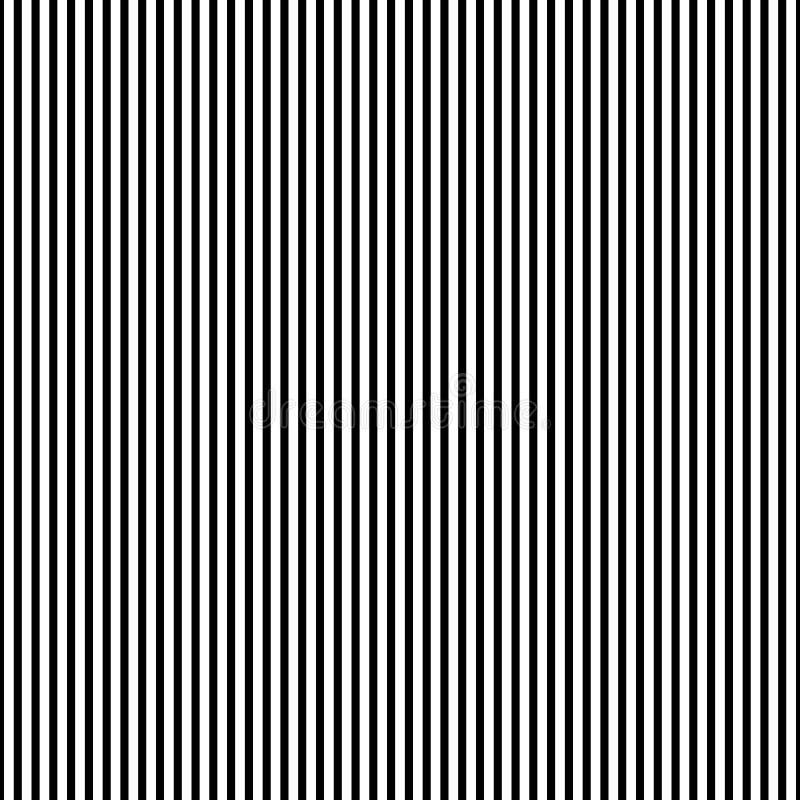 Herhaalbaar geometrisch patroon, zwart-wit abstracte achtergrond, te stock illustratie
