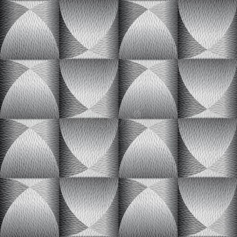 Herhalend afgeschuind decoratief patroon - ononderbroken replicatiestatus royalty-vrije stock fotografie