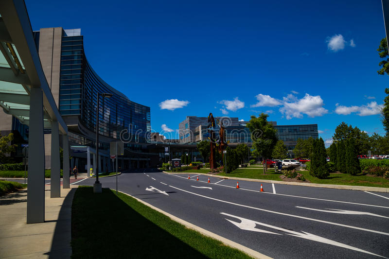 Herhsey Medical Center Buildings royalty free stock image