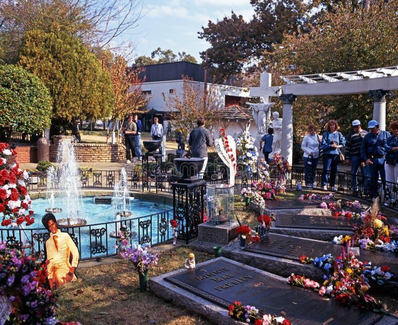 Herinneringstuinen, Graceland royalty-vrije stock foto's