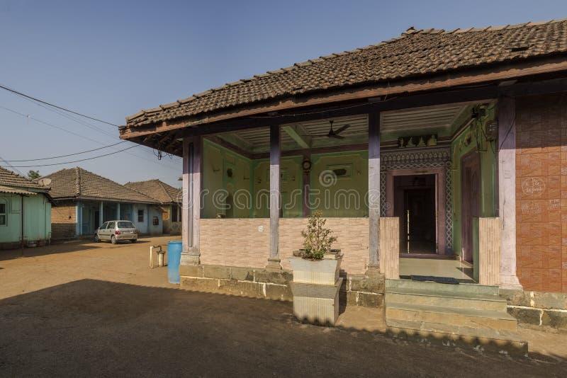 Devaloli Villedge near badlapur District: Thane Maharashtra INDIA. Heritage architecture- Devaloli Villedge near badlapur District: Thane Maharashtra INDIA stock image
