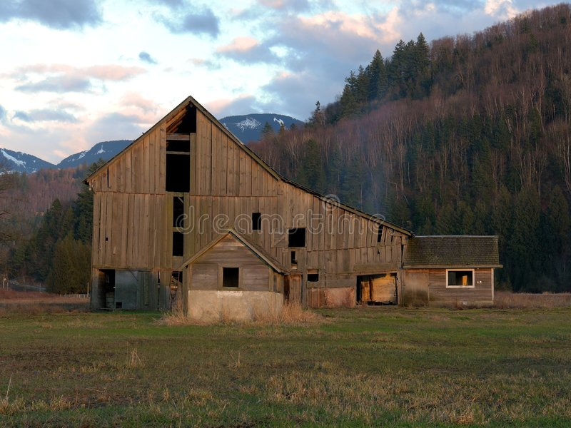 Download Heritage Barn stock image. Image of clouds, gone, over - 2006523