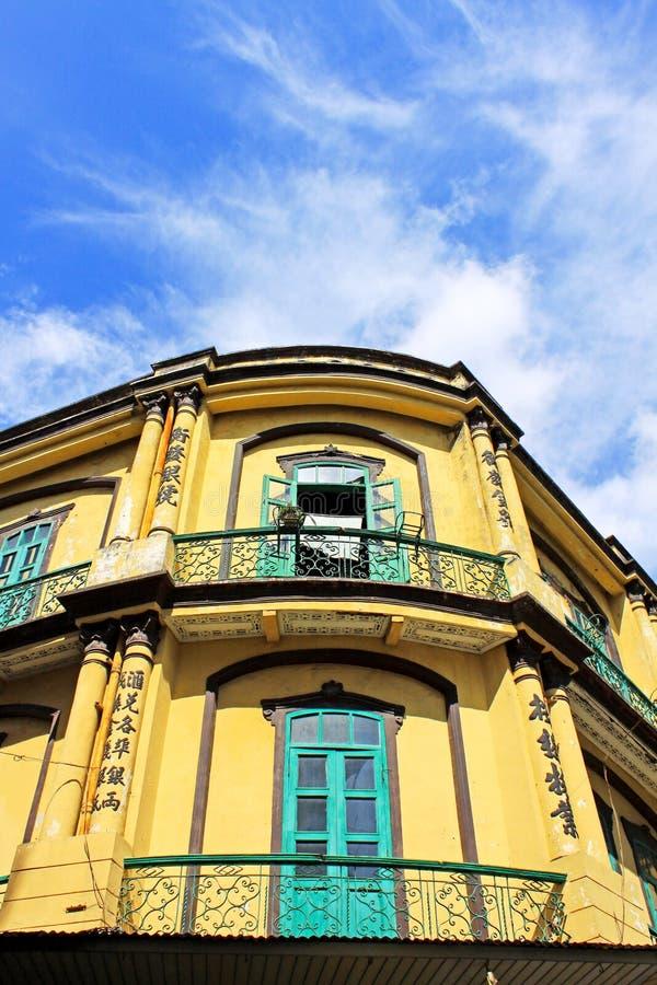 Heritage Building, Macau, China stock photography