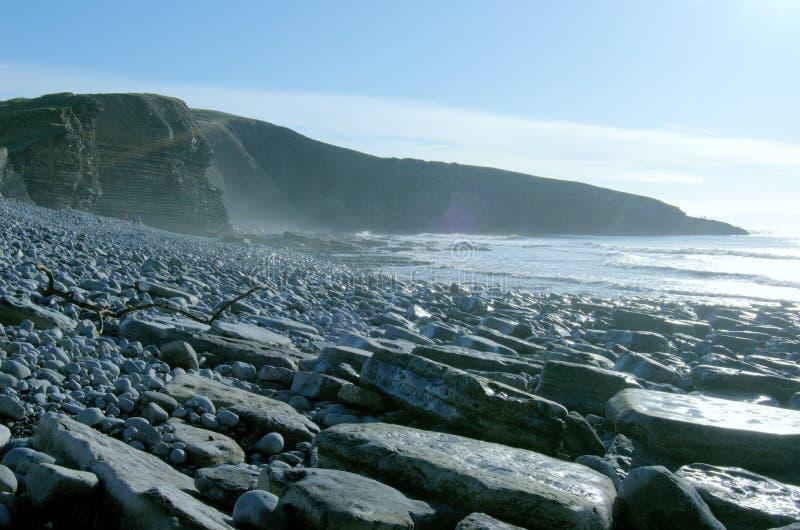 Download Heritage coast stock photo. Image of rocks, winter, walking - 13571664