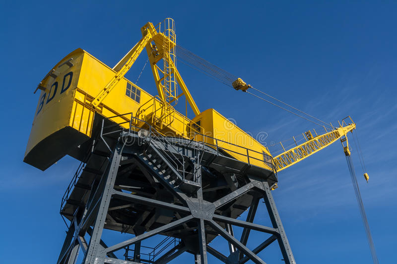 Download Heritage Crane In North Vancouver Stock Photo - Image: 34069652