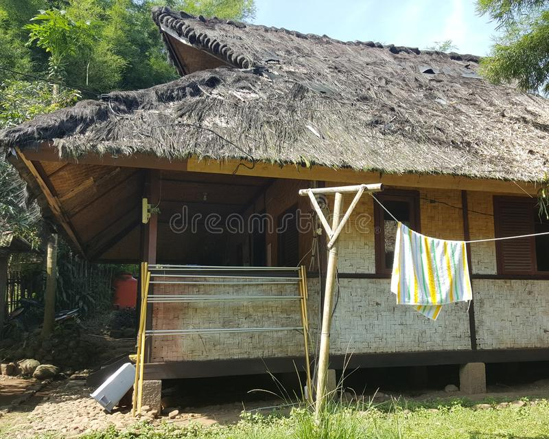 Traditional West Java House royalty free stock photography