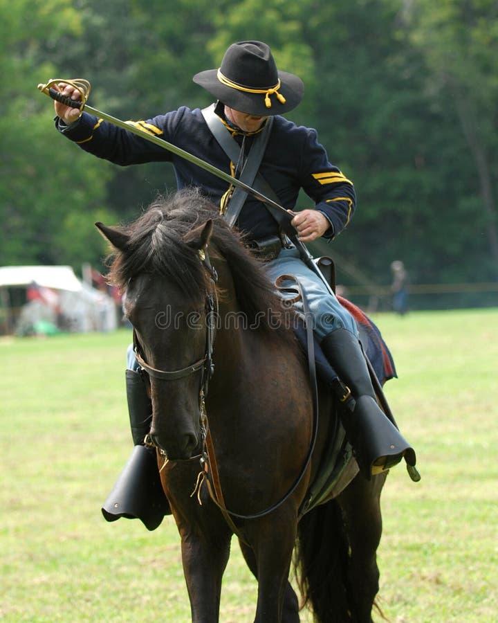 Heritage days. Civil war soldier, at heritage days stock photos