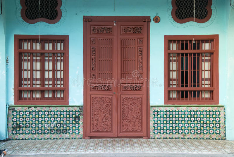 Heritage House, George Town, Penang, Malaysia royalty free stock photos