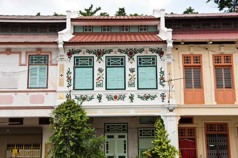 Heritage of Ipoh, Malaysia. Ipoh is a city in Malaysia, approximately 200km north of Kuala Lumpur royalty free stock photos
