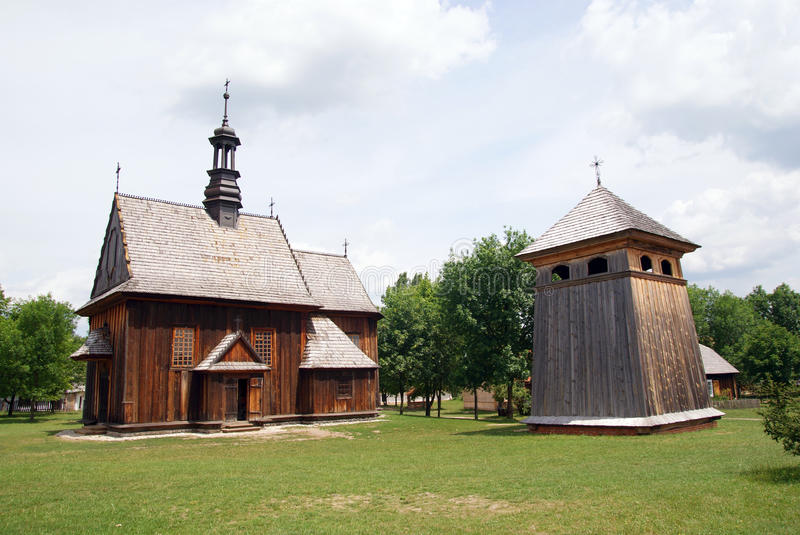 Download Heritage Park in Tokarnia stock image. Image of wooden - 25484709