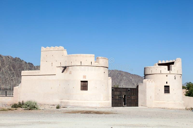 Heritage Village in Fujairah royalty free stock images