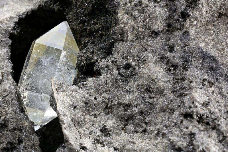 Herkimer diamant royaltyfri foto