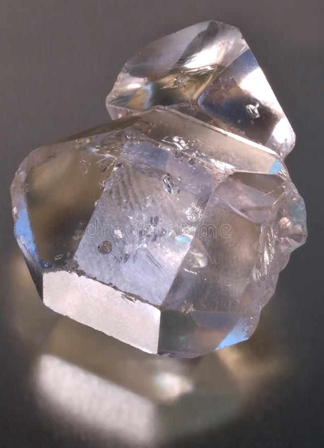 Herkimer Diamanten Lizenzfreie Stockfotografie