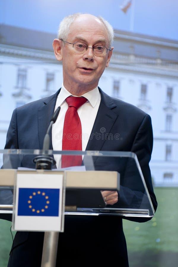Herman Van Rompuy stock foto