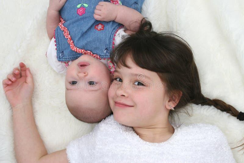 Hermanas 01 fotos de archivo libres de regalías